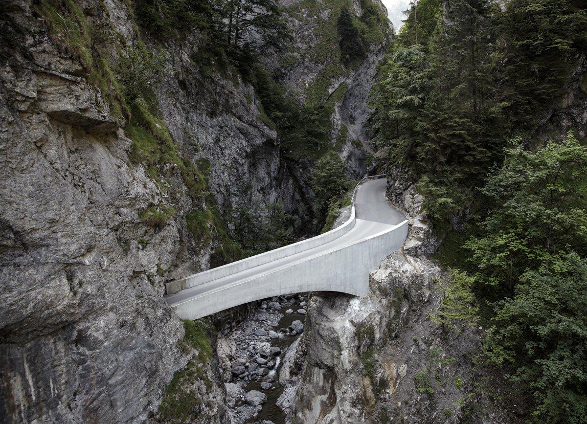 Schaufelschluchtbrücke Marc Lins