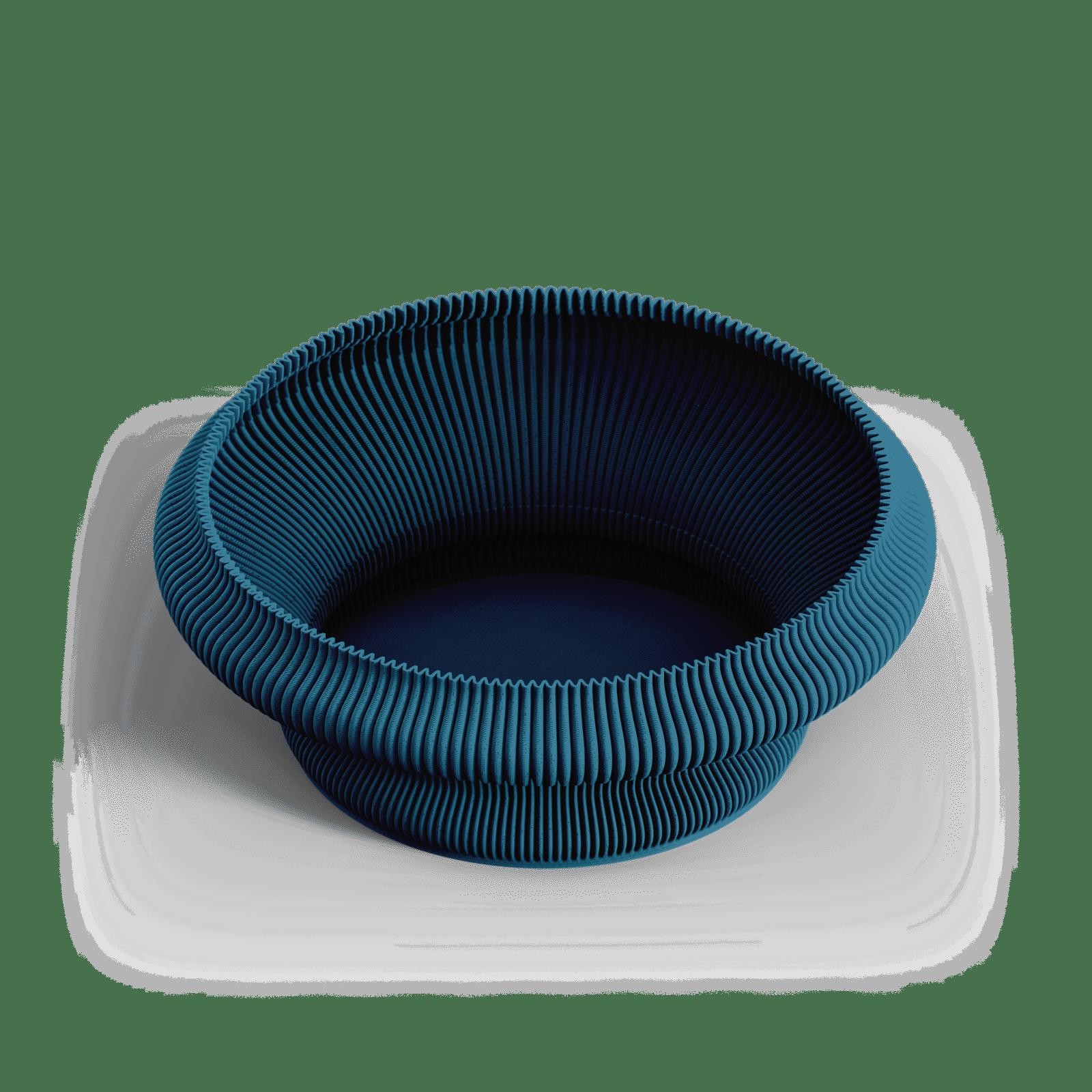 ZAYL 309g Bowl Mosaic Blue PNG 1