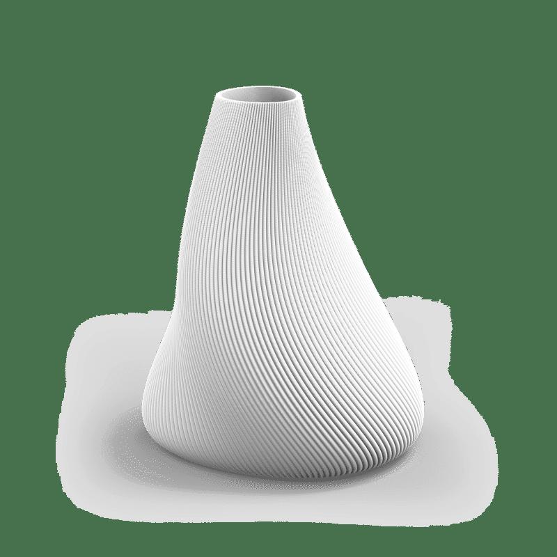 BLOZ 158g Vase College White PNG 1