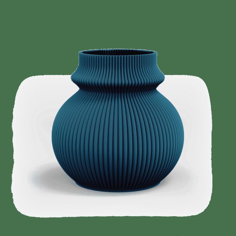 ZAYL 102g Vase Mosaic Blue PNG 1