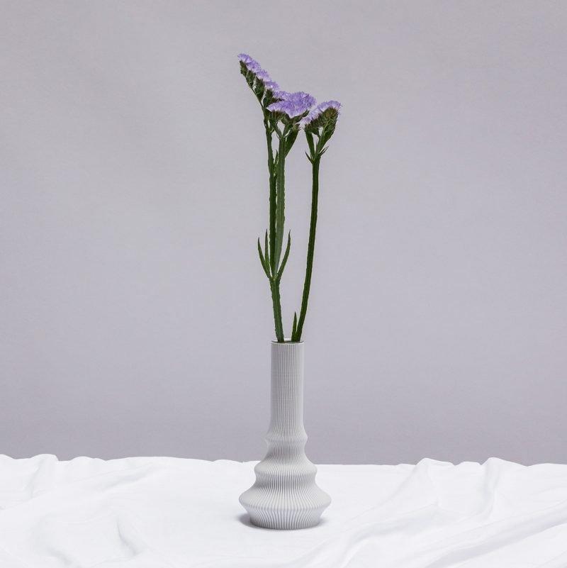 Sheyn Hohe Vase Grau 02