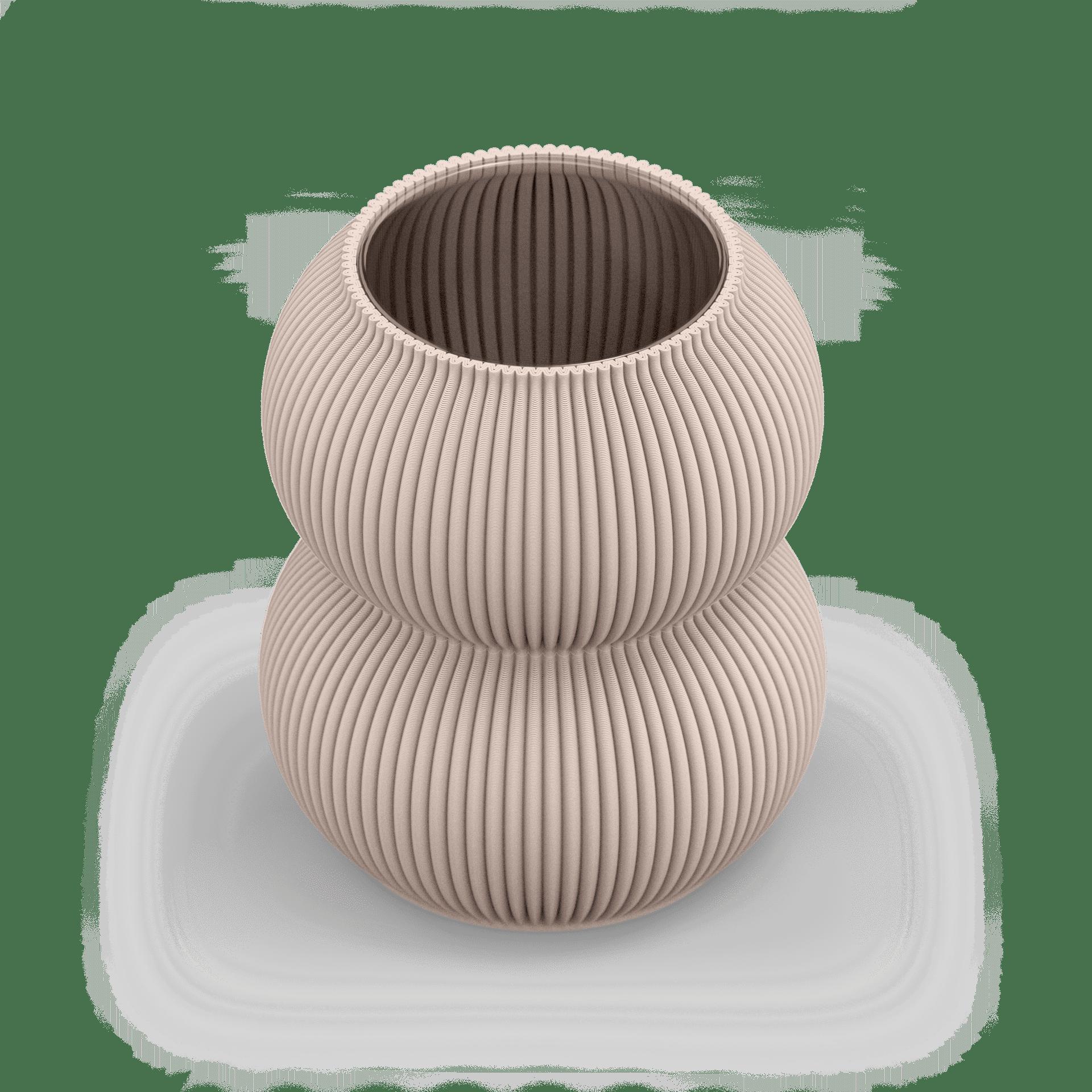 Zayl 159g Vase Lark Beige