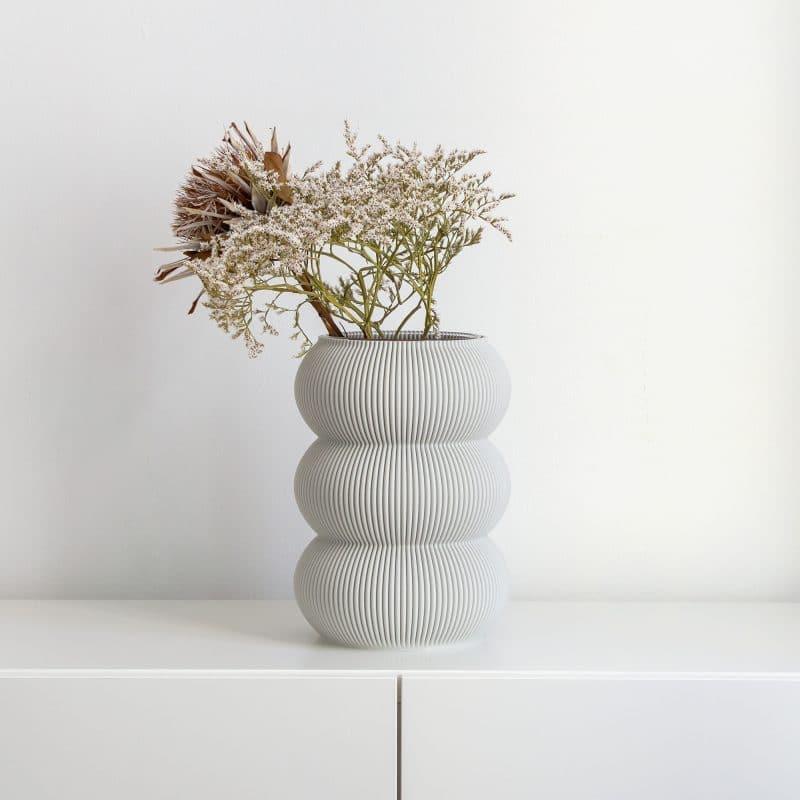 Zayl 598g Vase Cool Grey 1