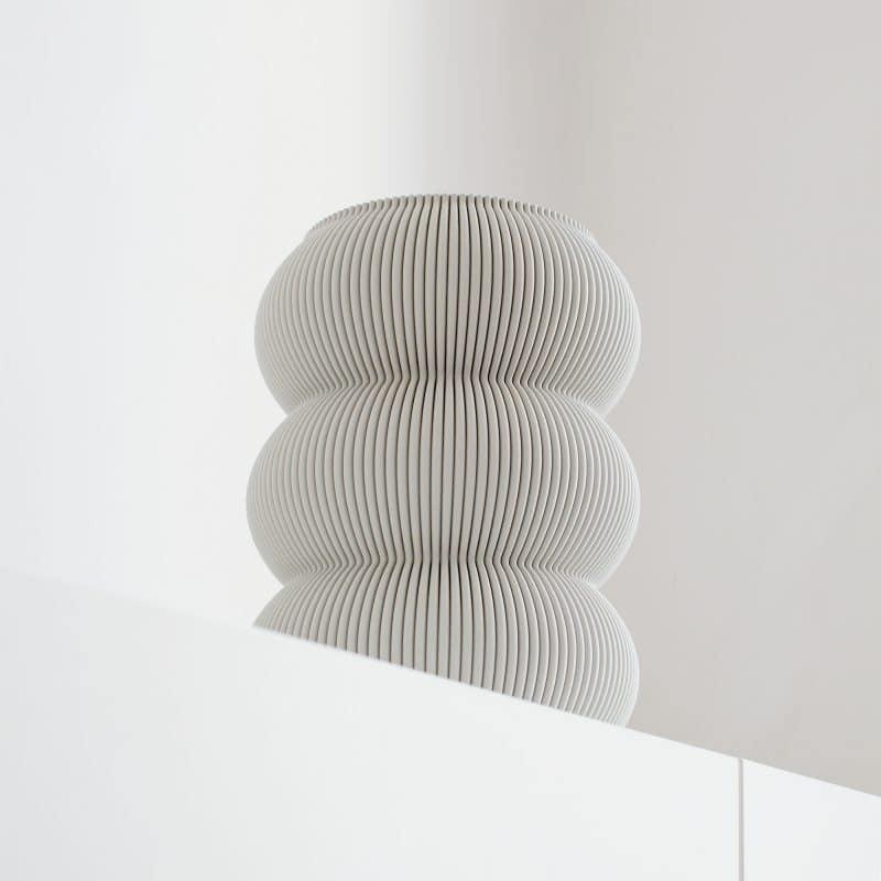 Zayl 598g Vase Cool Grey 2