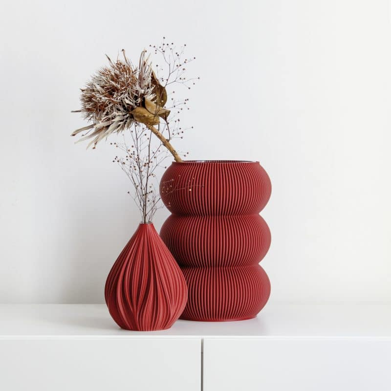 Zayl 598g Vase Ruby Red 2 scaled